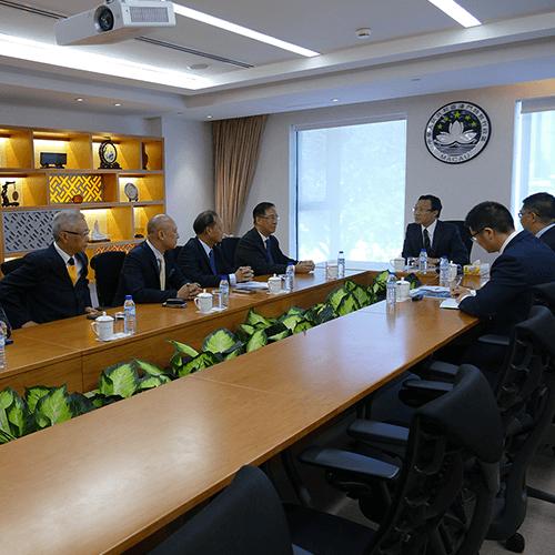 本會拜訪社會文化司司長譚俊榮