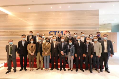 本會及(屬會)澳門工商青年會拜訪澳門電訊CTM