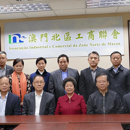 北京市政協代表團到訪本會